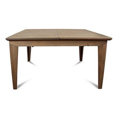 Table carre en chêne avec allonge