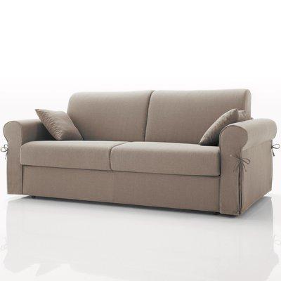 Canapé convertible 3 places maxi, tissu déhoussable - beige