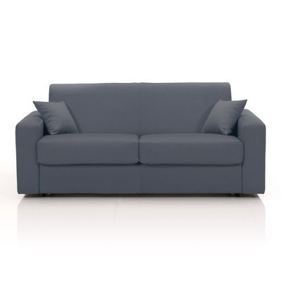 Canapé 3 places fixe, tissu déhoussable - anthracite