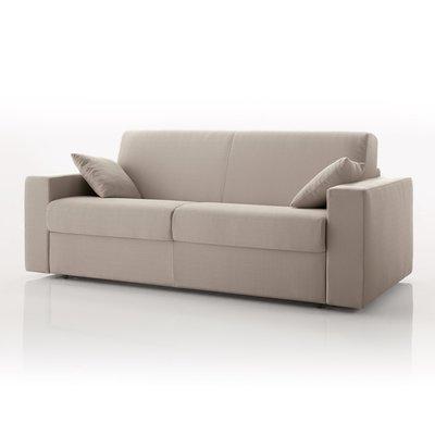 Canapé 3 places fixe, tissu déhoussable - ivoire