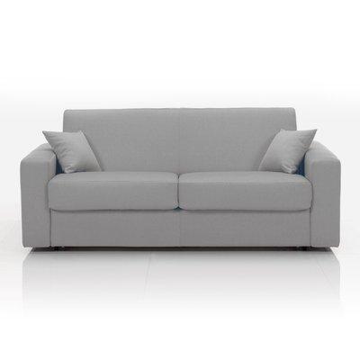 Canapé 3 places fixe, tissu déhoussable - taupe