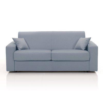Canapé 3 places fixe, tissu déhoussable - gris