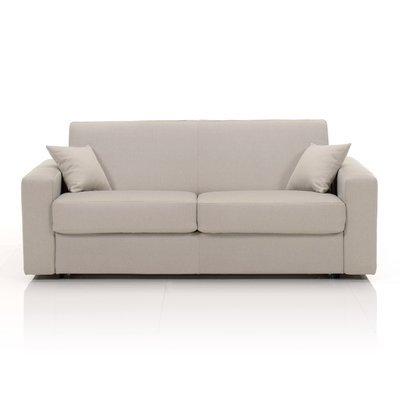 Canapé 3 places fixe, tissu déhoussable - écru