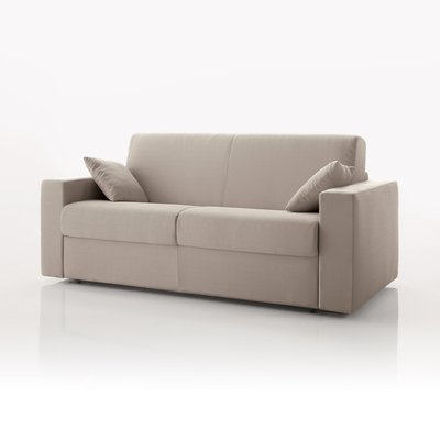 Canapé convertible 2 places maxi, tissu déhoussable - ivoire