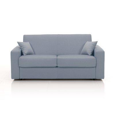 Canapé convertible 2 places maxi, tissu déhoussable - gris