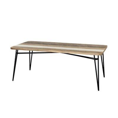 Table à manger DANUBE - bois naturel