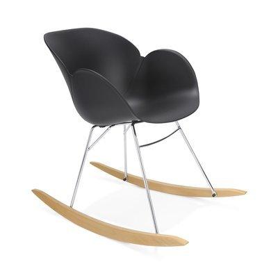 Chaise à bascule noir - SWING