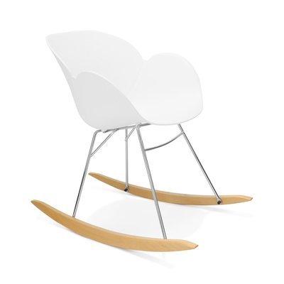 Chaise à bascule blanc - SWING