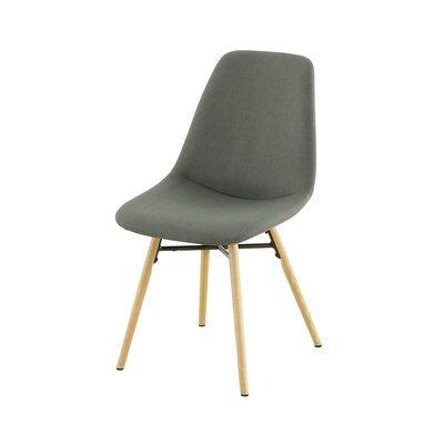 Lot de 2 chaises de repas anthracite  -  MYA