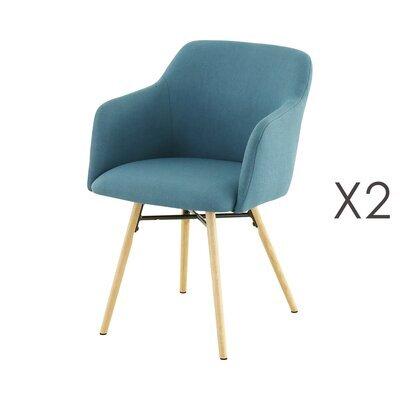 Lot de 2 fauteuils de repas bleu   -  MYA