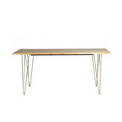 Table à manger 175x90x76cm en manguier et métal