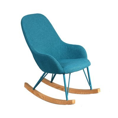 Rocking chair enfant turquoise  - ANSELME