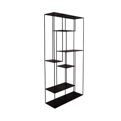 Etagère 6 niveaux 180 cm en métal noir - CHARLTON