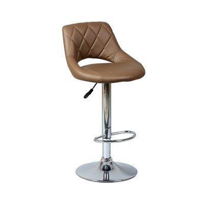 Lot de 2 chaises de bar taupe - PORTIO