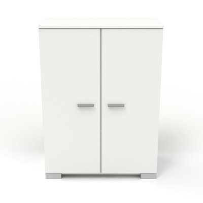 Buffet 2 portes blanc - HUGO