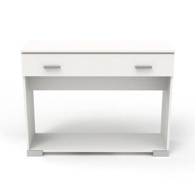 Console 1 tiroir blanc - HUGO
