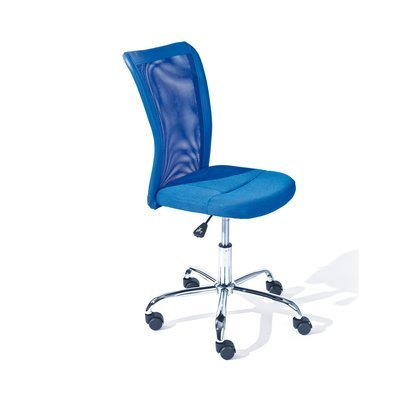 Chaise de bureau enfant en PU bleu - CHILD