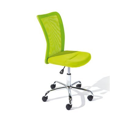 Chaise de bureau enfant en PU vert - CHILD