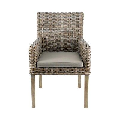 Chaise repas en kubu avec pieds en teck - SUCCESS