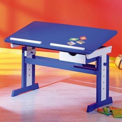 Bureau multifonction 109x64-90x55 cm  bleu - MODULAR