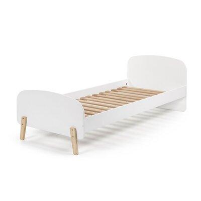 Lit 90x200 cm en pin blanc - KIDLY