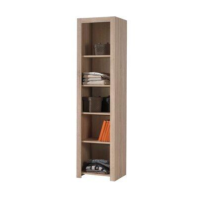 Bibliothèque 5 niveaux 50x45x199 cm naturel - LORRIS