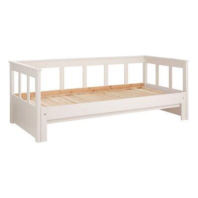Lit extensible 90/180x200 cm blanc - PINO