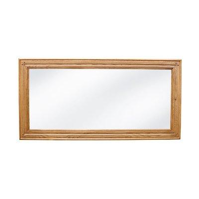 Miroir L 1700 mm à poser chêne clair