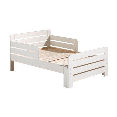 Lit enfant évolutif 90x140/160/200 cm en pin blanc - JUMPY