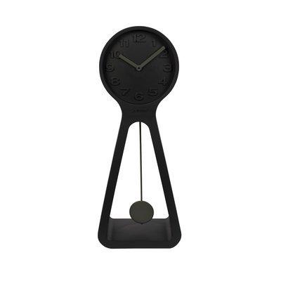 Horloge 38x2x97,5 cm en résine noire - GIANT