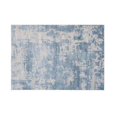 Tapis 120x180 cm en acrylique bleu - NUMA