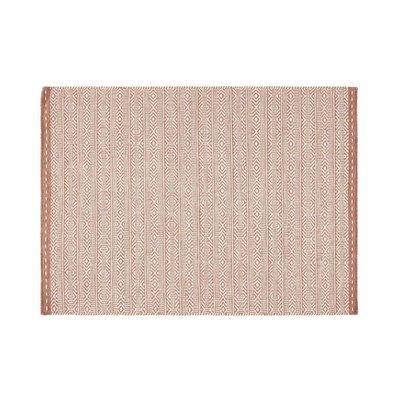 Tapis 120x170 cm en tissu corail - OUZIA