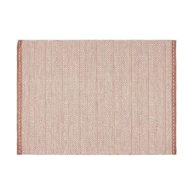 Tapis 160x230 cm en tissu corail - OUZIA