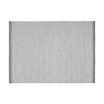Tapis 160x230 cm en tissu gris - OUZIA