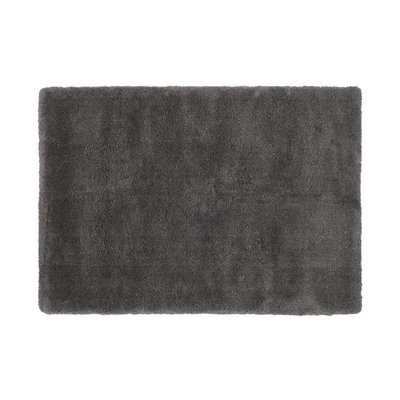 Tapis 120x170 cm en polyester anthracite - MARY