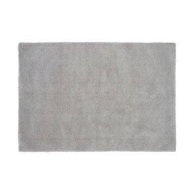 Tapis 120x170 cm en polyester argent - MARY
