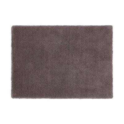 Tapis 120x170 cm en polyester gris - MARY