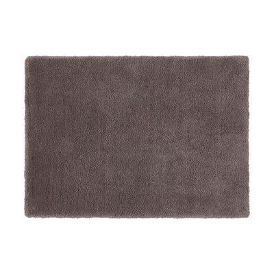 Tapis 160x230 cm en polyester gris - MARY