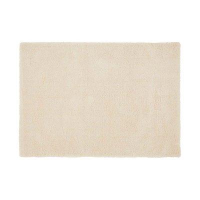 Tapis 120x170 cm en polyester ivoire - MARY