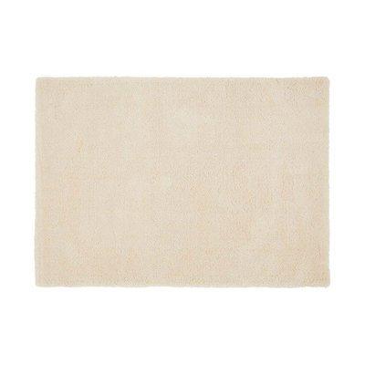 Tapis 160x230 cm en polyester ivoire - MARY