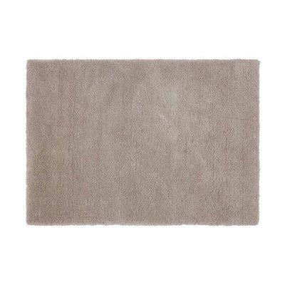 Tapis 120x170 cm en polyester gris clair - MARY