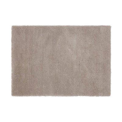 Tapis 160x230 cm en polyester gris clair - MARY