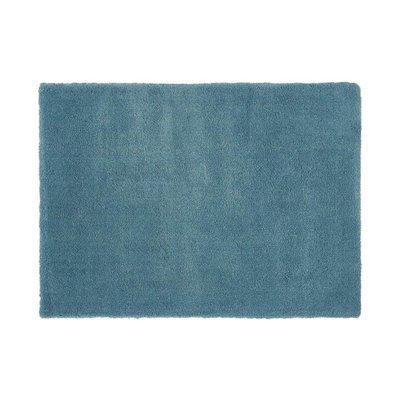 Tapis 120x170 cm en polyester bleu - MARY