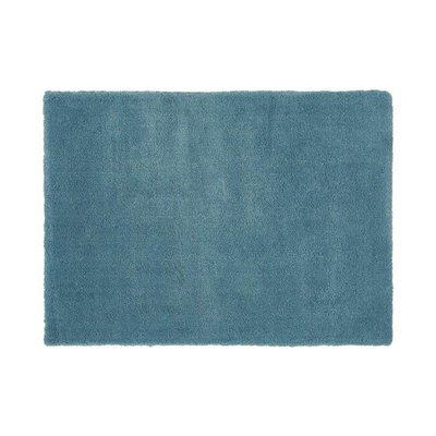 Tapis 160x230 cm en polyester bleu - MARY
