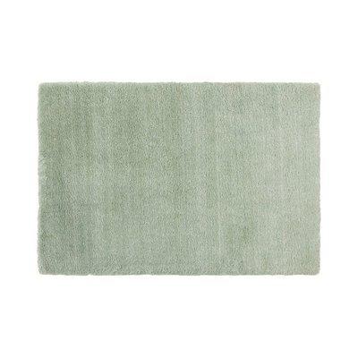 Tapis 160x230 cm en polyester vert - MARY