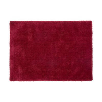 Tapis 120x170 cm en polyester rouge - MARY