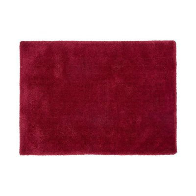 Tapis 160x230 cm en polyester rouge - MARY