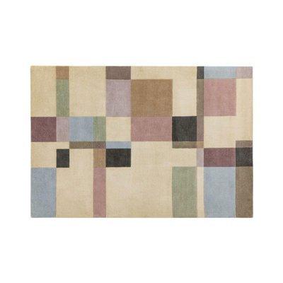 Tapis 120x170 cm de style contemporain en laine - NEDLE