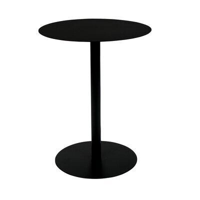 Table basse 42x31x40 cm en acier noir - SNOW