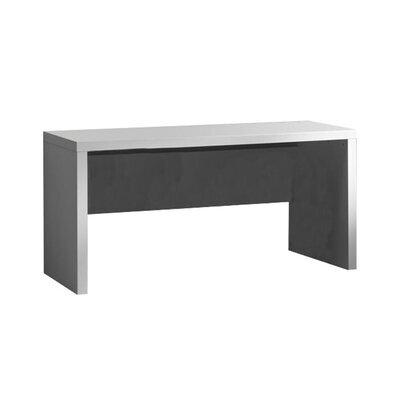 Bureau 150x76x70 cm laqué blanc - CROFT